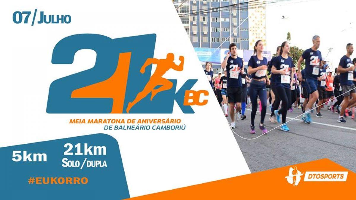 21K BC – Meia Maratona de Aniversário de Balneário Camboriú
