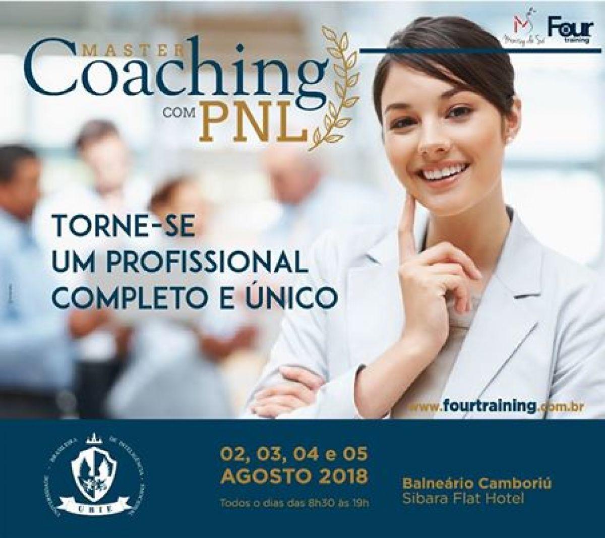 FORMAÇÃO EM COACHING COM PNL - FOUR TRAINING