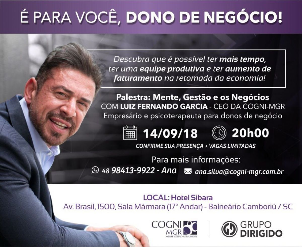 Mente, Gestão e os Negócios - LUIZ FERNANDO GARCIA