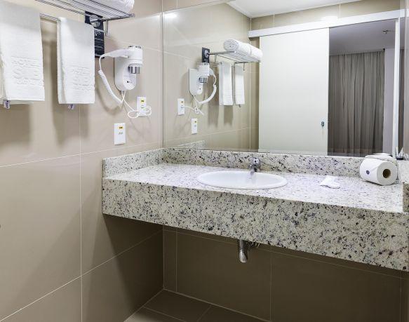 Apto Superior Single ou Casal - 18º Andar - Sibara Hotel