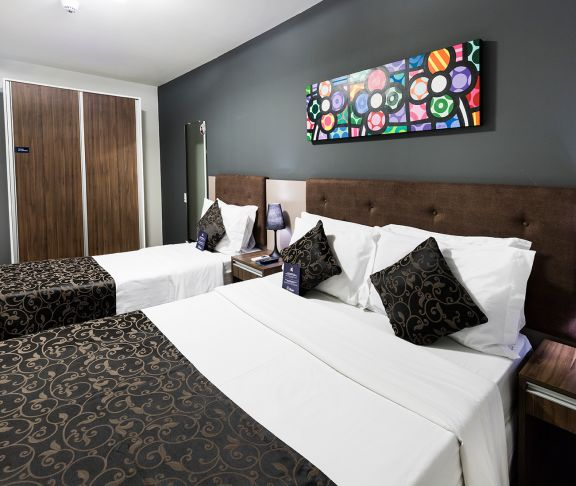 Economic Double + Triple Beds - Sibara Hotel