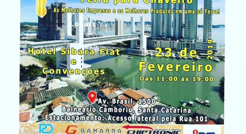 FEICHAVE - FEIRA PARA CHAVEIRO