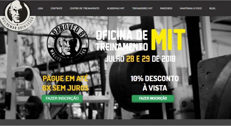 Oficina de Treinamento - Waldemar Guimarães