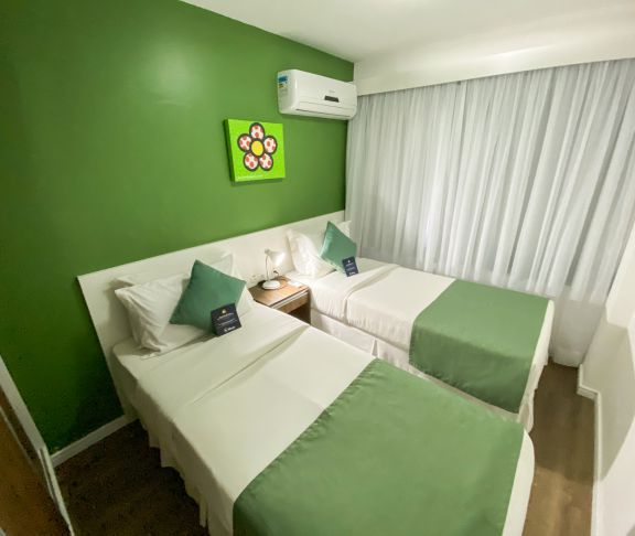 Family Suite Double (double bed) + Twin Beds