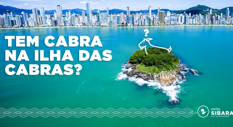 Tem cabra na Ilha das Cabras?